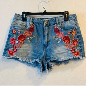 Forever 21 | Floral High Waisted Shorts | 31